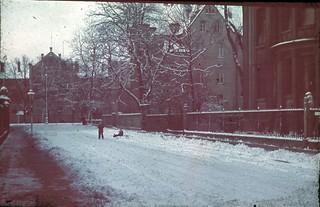 winter im warmbüchenkamp ca. 1940/41