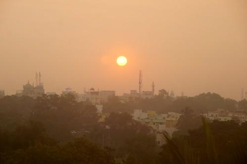 sunset india asia indien