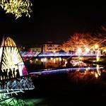 #月津港#燈#倒影#暗#冬#橋#塩水  #台南#台灣#light#invertedimage  #dark#winter#bridge#saltwater #tainan#taiwan