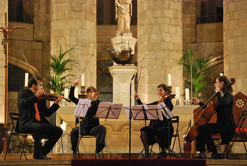 Quartet Argent, Catedral del Mar