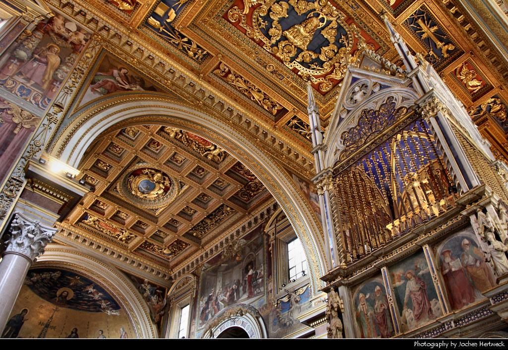 Arcibasilica Papale di San Giovanni in Laterano, Rome, Ita ...