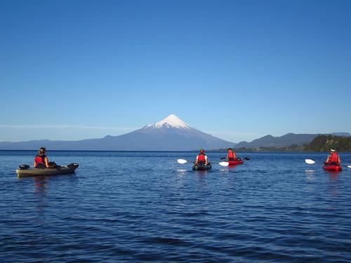 Kayaking in Lago Llanquihue, near Puerto Varas, Chile | by blueskylimit