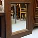 Dark hardwood mirrors