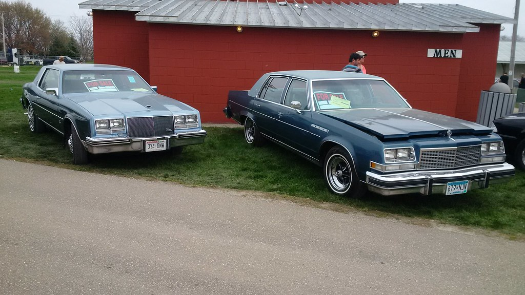 '79 Riviera And '77 Electra, Spring Jefferson Car Show
