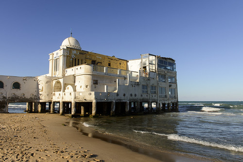 old sunset building beach beautiful architecture mediterranean tunisia tunis dome goldenhour