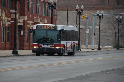 Gary GPTC Bus on Broadway