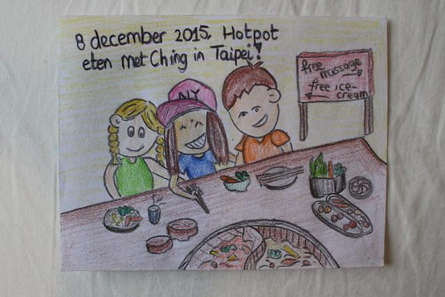 Ching laat ons Hotpot eten!