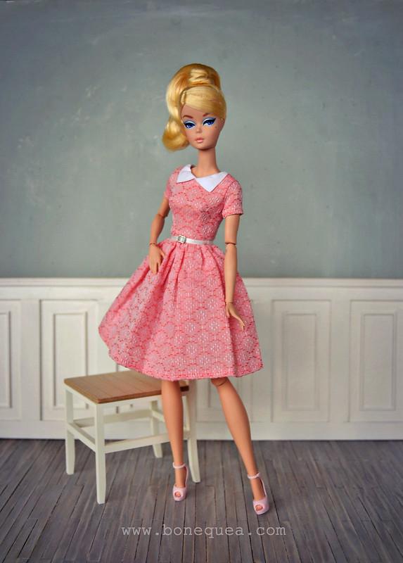 Classic Black Dress Silkstone Barbie