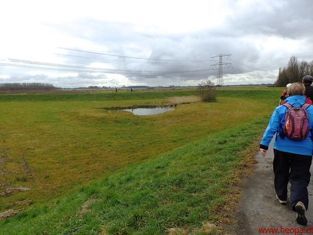 2016-03-23 stads en landtocht  Dordrecht            24.3 Km  (108)