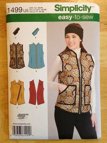 Simplicity 1499 (vest) | by patternandbranch