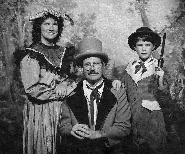 family tintype from 1995