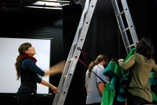 Escenografía, Effie la elefanta, Mots de fusta, Can Felipa.