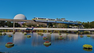 Epcot Monorail | by Scott Thomas Photography