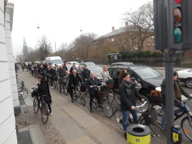 people by bike