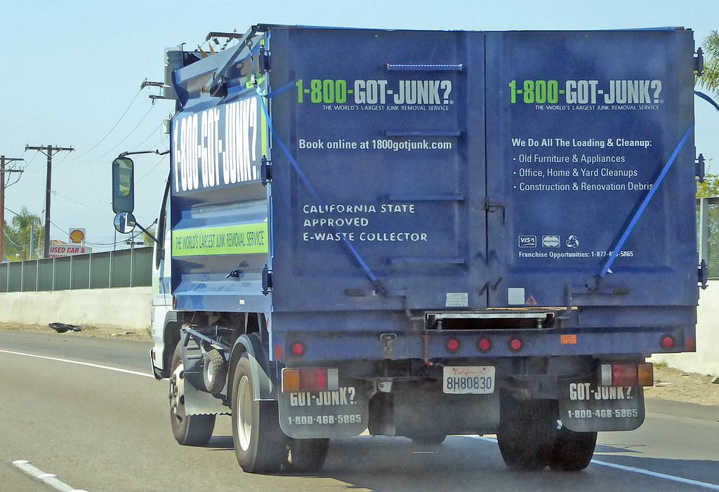 1-800 Got Junk Truck 3-18-16 | David Valenzuela | Flickr