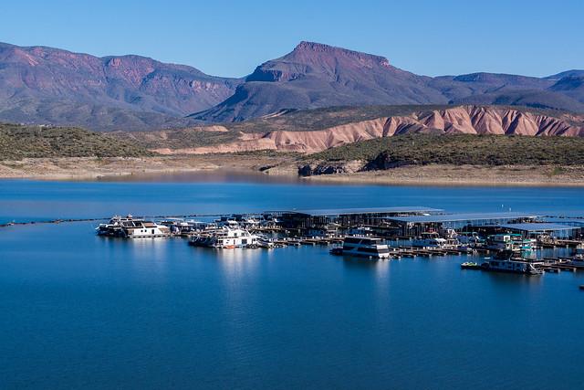 Roosevelt Lake and Marina -2
