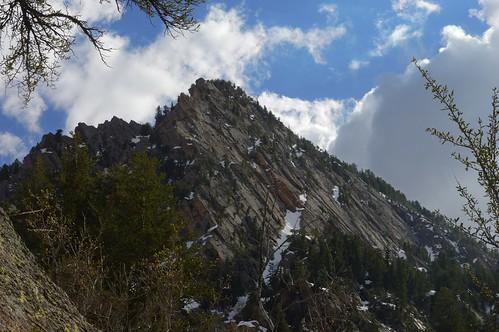 cloud snow pine forest utah spring wasatch peak ridge summit quartzite steep mountolympus conifer saltlakevalley neffscanyon mountolympuswilderness curlleafmountainmahogany lebarodea