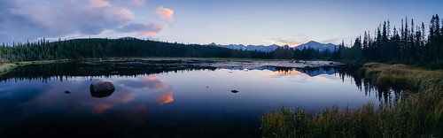 sunset mountain lake nature colorado longspeak alpinelake rockymountainnationalpark bearlake