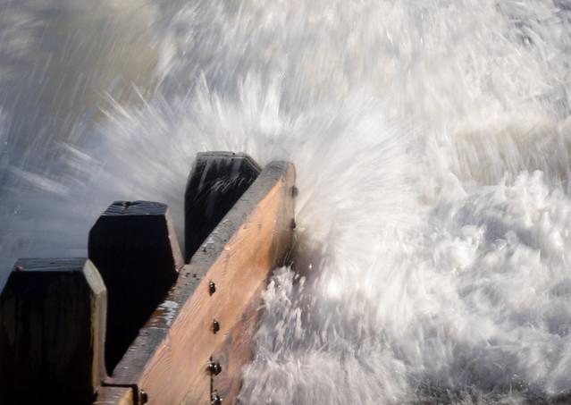 Breakwater Breaking Water