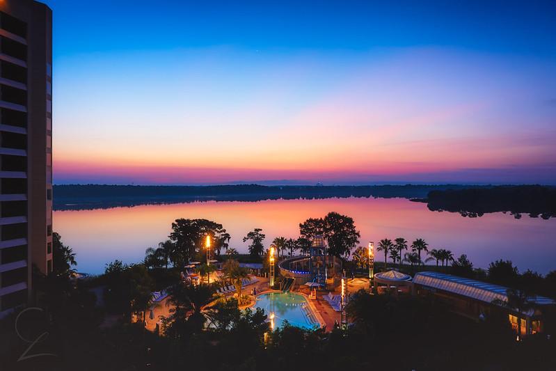 Beautiful Bay Lake Sunrise