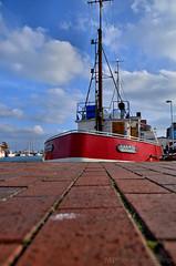 Am Hafen Heiligenhafens