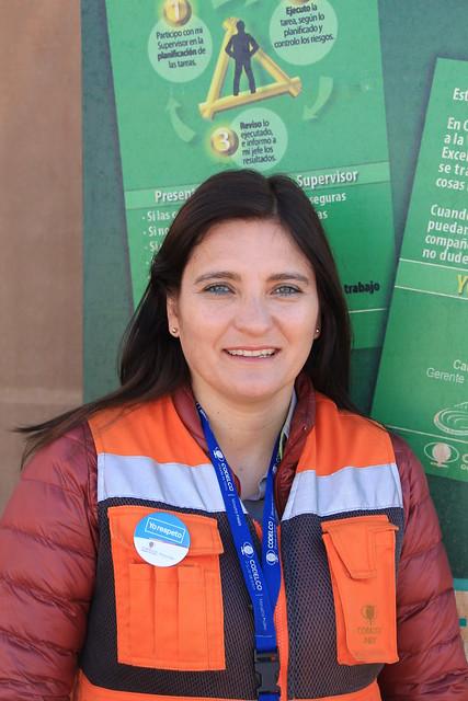 Jessica Santander, Coordinadora de Servicios de las personas División Ministro Hales