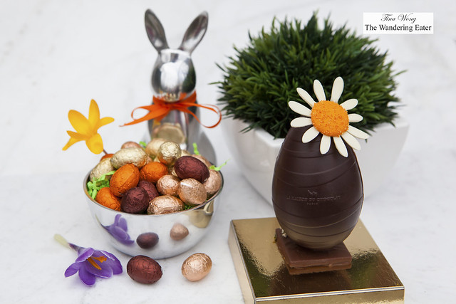 Daisy Collection Chocolate Easter Egg & Hazelnut Praline Eggs