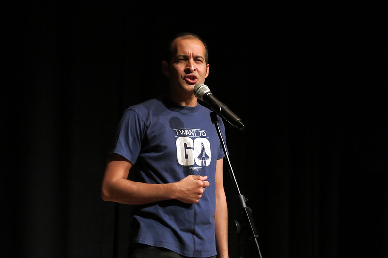 Anis Mojgani in performance