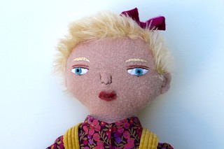 blond girl doll face | by Mimi K