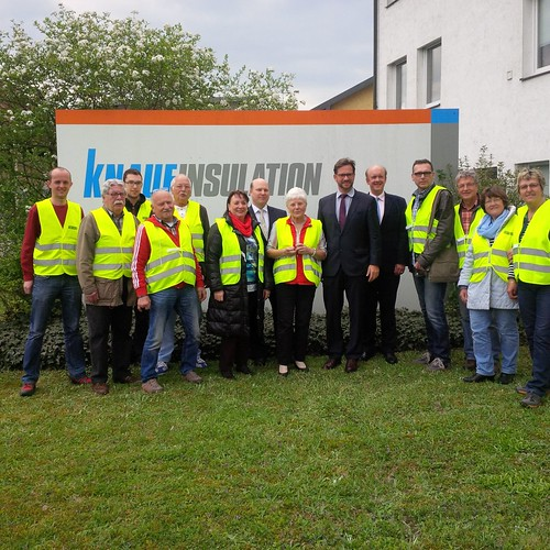 Knauf Insulation Werksbesuch | by Florian Pronold