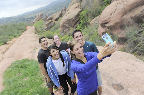JWU Denver students at Red Rocks