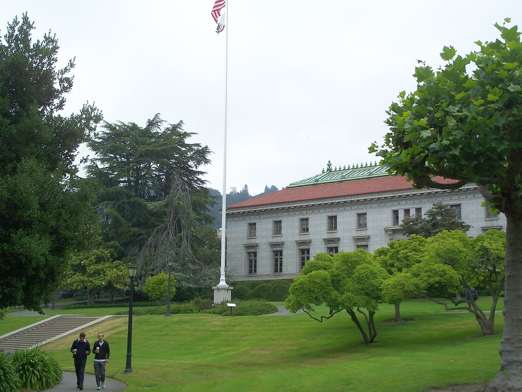 USA (Berkeley) View of UC campus