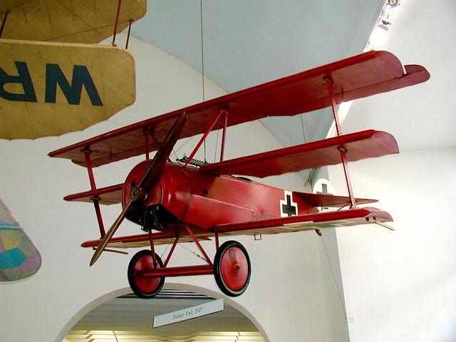 Fokker Dr I, Deutsches Museum, Munich