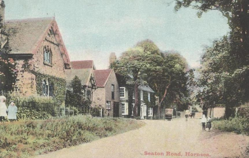 Seaton Road, Hornsea 1905 (archive ref PO-1-65-31)