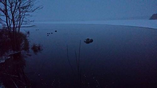 dusk fog lunar moon eerie surreal massachusetts rochester