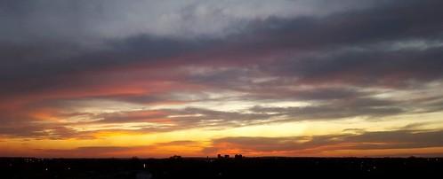 sunset bartlesville cloudsstormssunsetssunrises galaxys6