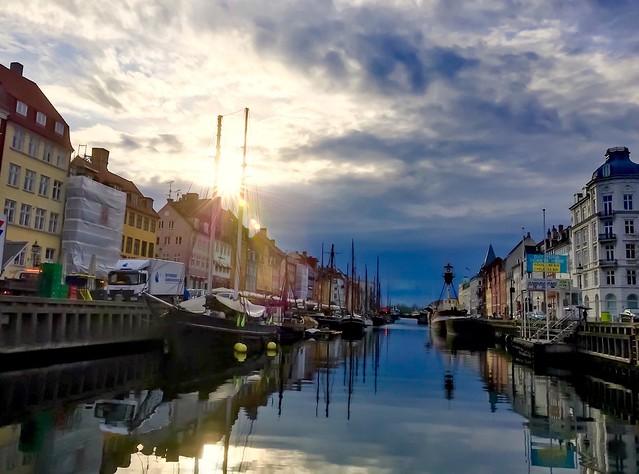 Exploring Nyhavn, Copenhagen, Denmark!