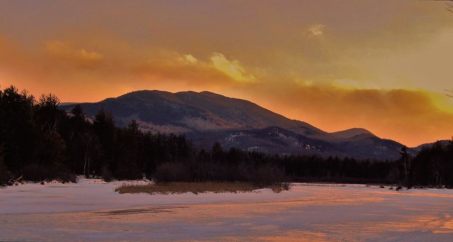 Ausable River sunset
