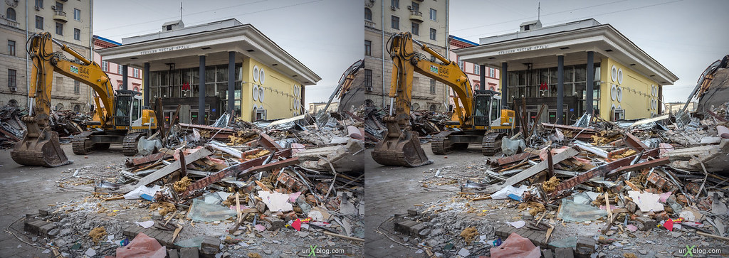 Excavations in the center of Moscow