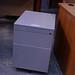 Metal 2 drawer pedestal
