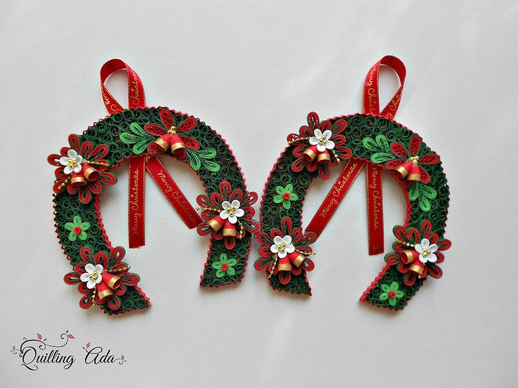 Quilling Christmas Ornament Ada Urucu Flickr