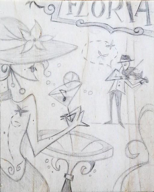 Venezia Florian Sketch