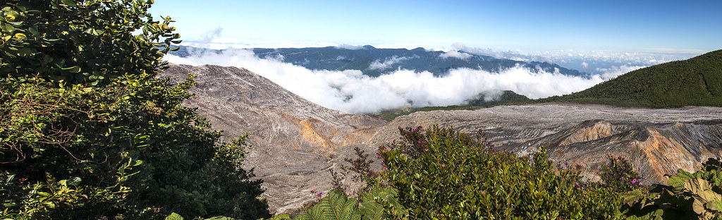 Poas Volcano Costa Rica Took A Tour With Caravan Tours Flickr