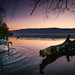 Sonnenuntergang am Greifensee / Sunset at Greifensee  (Explored...thank you so much!) ♥ by Claudia Bacher Photography