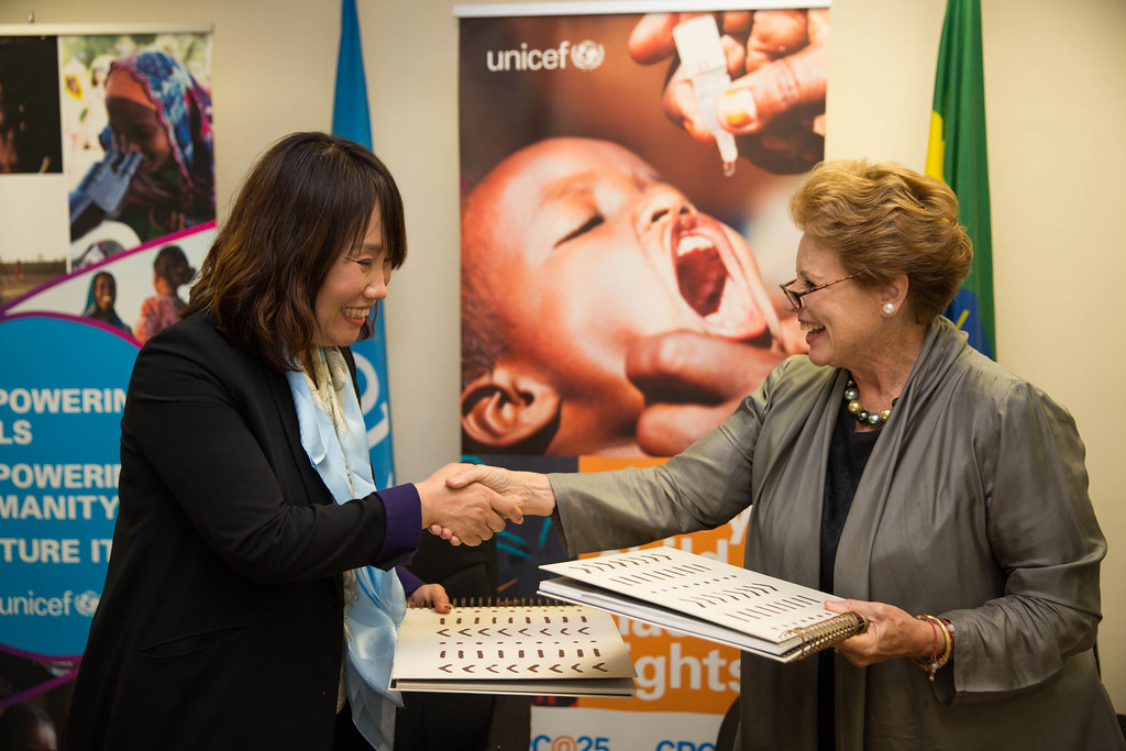 KOICA Country Director, Doh Young Ah and UNICEF representa… | Flickr