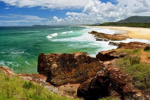 seascape australia newsouthwales aus portmacquarie midnorthcoast camdenhead dunbogan nikon1635mmf4 nikond750