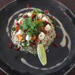 Hippie Grain Salad. Glad to see it back- always a winner! @caffiend_cairns #nohastagsneeded