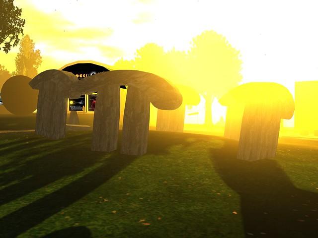 Exploratorium -Stone Pi'd At Sunset