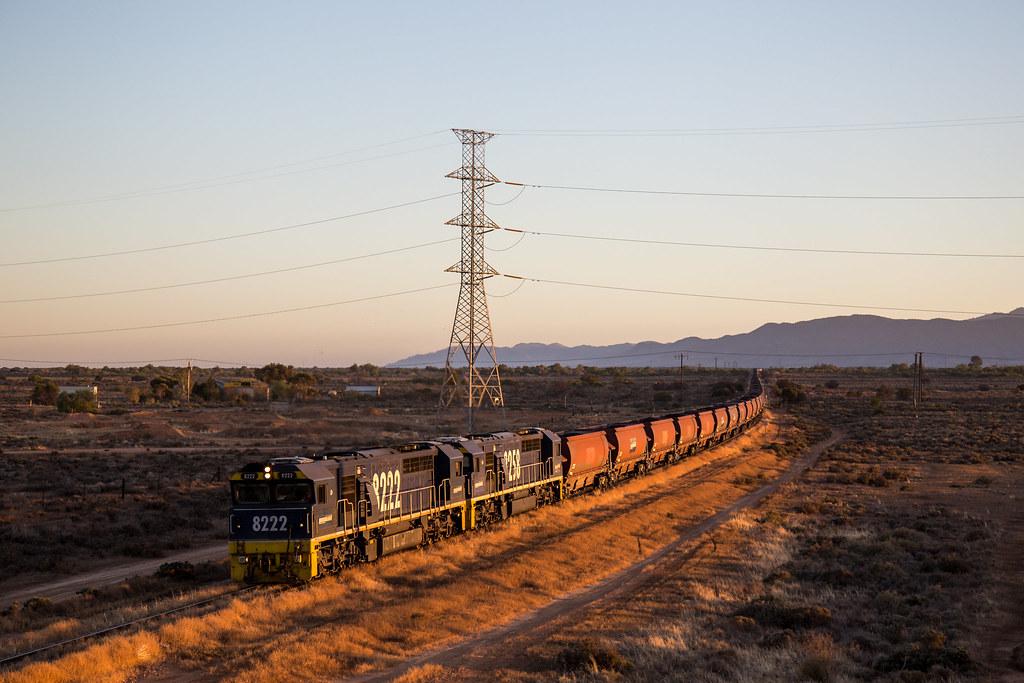 2016-02-18 Pacific National 8222-8258 Port Augusta Highway Bridge 4FP2 by Dean Jones