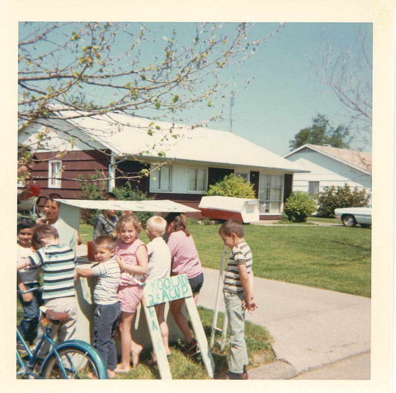 Lemonade stand, 1966